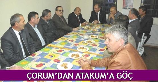 Çorum'dan Atakum'a göç