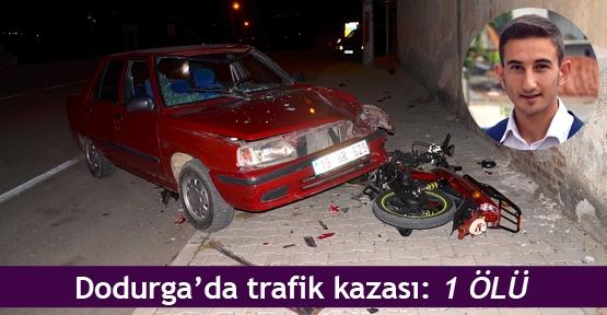 Dodurga'da trafik kazası:1 ölü