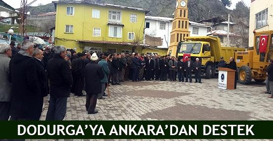 Dodurga'ya Ankara'dan destek