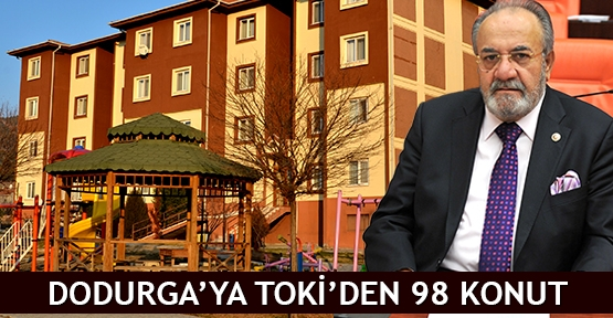 Dodurga'ya TOKİ'den 98 Konut