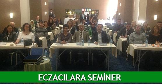Eczacılara seminer