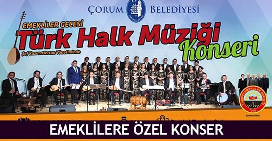 Emeklilere özel konser