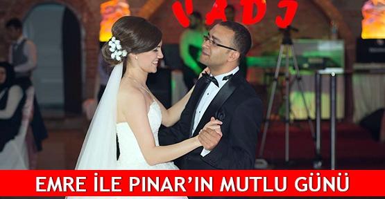 Emre ile Pınar'ın mutlu günü