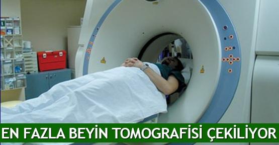 En fazla beyin tomografisi çekiliyor