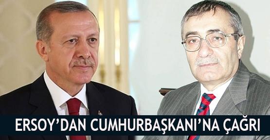 Ersoy'dan Cumhurbaşkanı'na çağrı