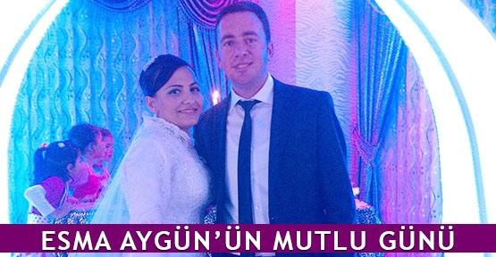 Esma Aygün'ün mutlu günü