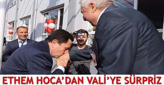 Ethem Hoca'dan Vali'ye sürpriz