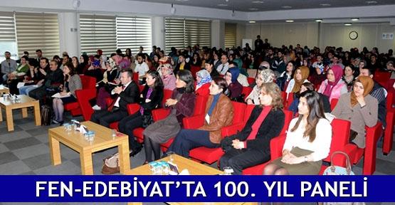 Fen-Edebiyat'ta 100. yıl paneli