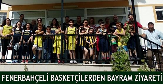 Fenerbahçeli Basketçilerden Bayram Ziyareti