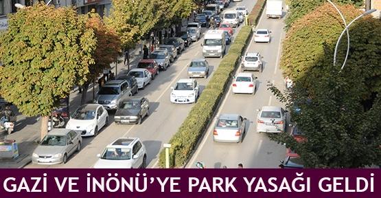 Gazi ve İnönü'ye Park Yasağı Geldi
