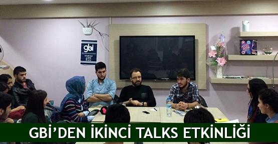 GBİ'den ikinci Talks etkinliği