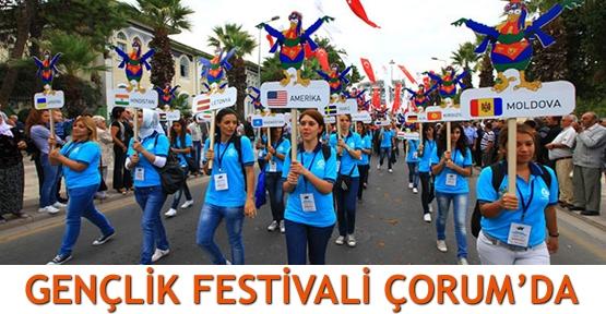 Gençlik Festivali Çorum'da