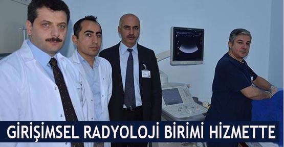 Girişimsel Radyoloji Birimi hizmette