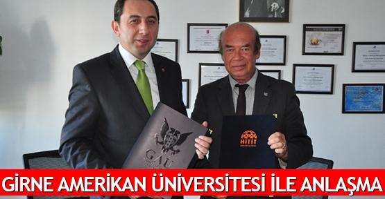 Girne Amerikan Üniversitesi ile anlaşma