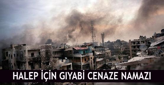 Halep için gıyabi cenaze namazı