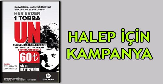 Halep için kampanya