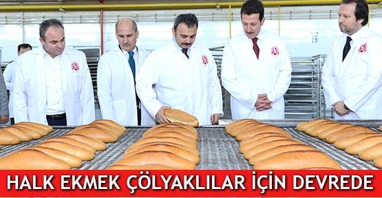 Halk Ekmek Çölyaklılar için devrede