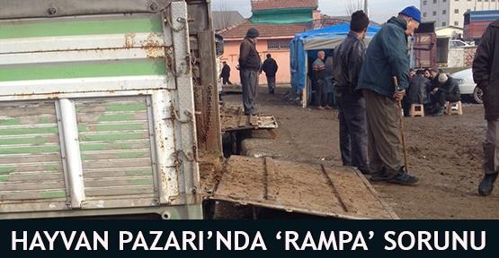 Hayvan Pazarı'nda 'Rampa' Sorunu