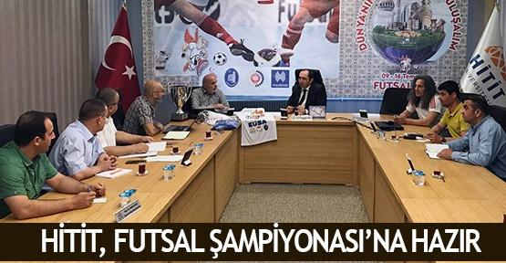 Hitit, Futsal Şampiyonası'na hazır