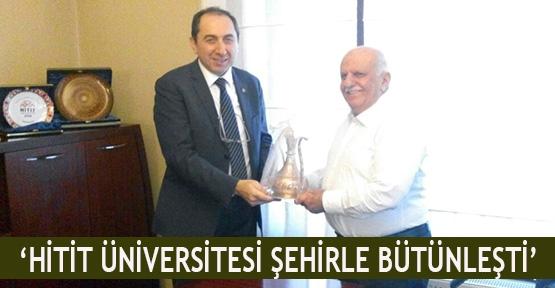 'Hitit Üniversitesi şehirle bütünleşti'
