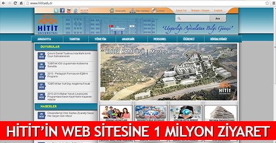 Hitit'in web sitesine 1 milyon ziyaret