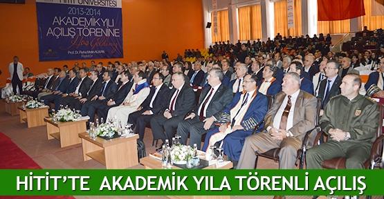 Hitit'te  akademik yıla törenli açılış