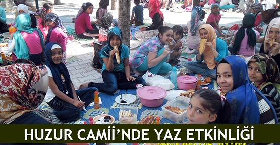 Huzur Camii'nde yaz etkinliği