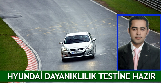 Hyundai dayanıklılık testine hazır