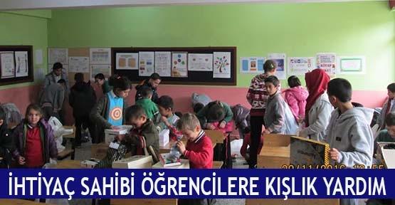 İhtiyaç sahibi öğrencilere kışlık yardım
