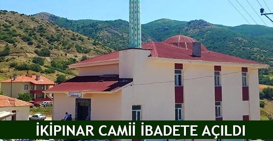İkipınar Camii ibadete açıldı