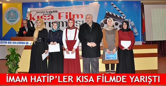 İmam Hatip'ler kısa filmde yarıştı
