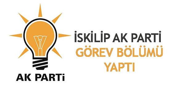 İskilip AK Parti görev bölümü yaptı