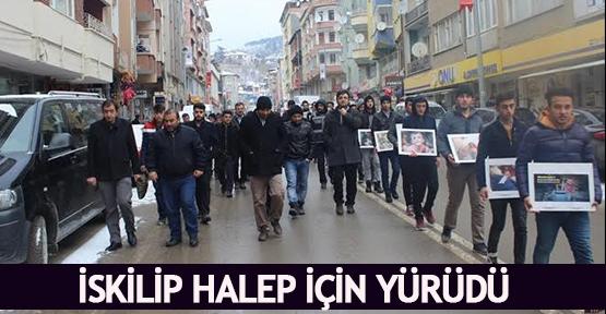 İskilip Halep için yürüdü