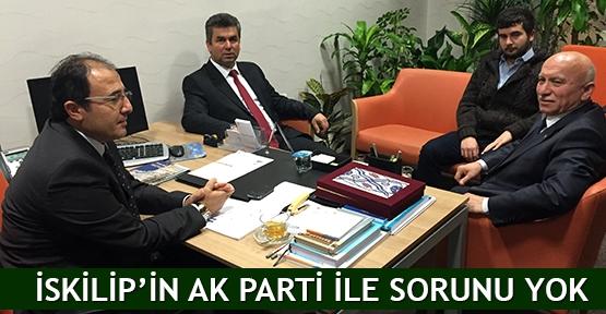 İskilip'in AK Parti ile sorunu yok