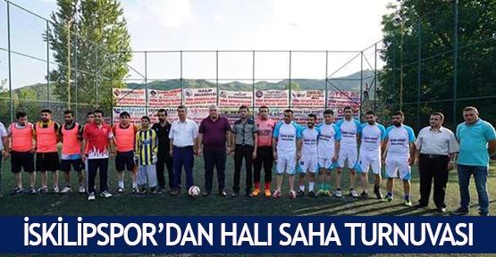 İskilipspor'dan halı saha turnuvası