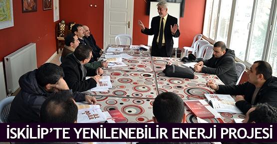 İskilip'te Yenilenebilir Enerji Projesi