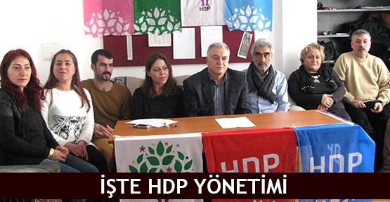 İşte HDP yönetimi
