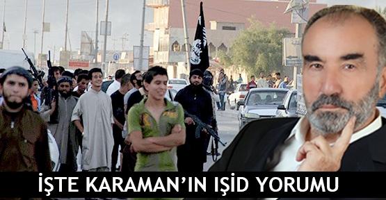 İşte Karaman'ın IŞİD yorumu