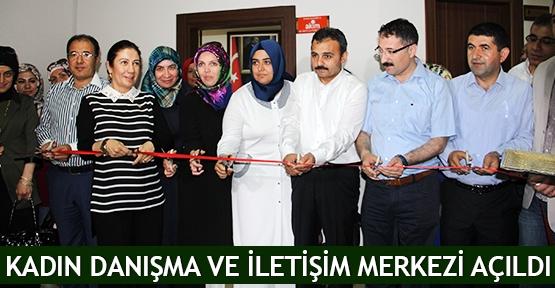 Kadın Danışma ve İletişim Merkezi açıldı