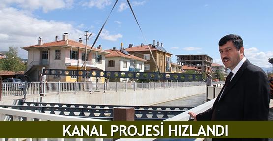 Kanal projesi hızlandı