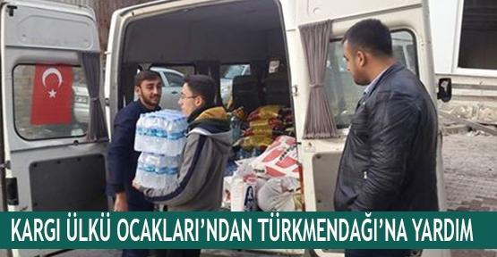 Kargı Ülkü Ocakları'ndan Türkmendağı'na yardım