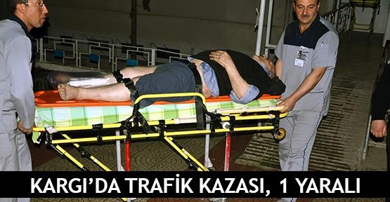 Kargı'da trafika kazası, 1 yaralı