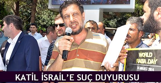 Katil İsrail'e suç duyurusu