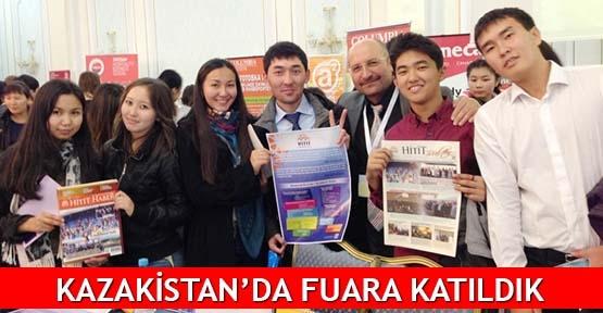 Kazakistan'da fuara katıldık