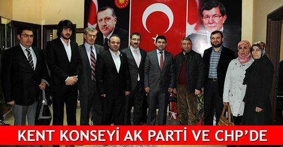 Kent Konseyi AK Parti ve CHP'de