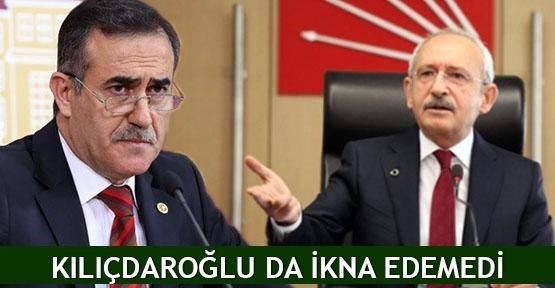 Kılıçdaroğlu da ikna edemedi