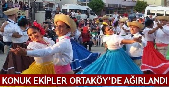 Konuk ekipler Ortaköy'de ağırlandı