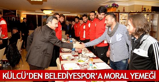 Külcü'den Belediyespor'a moral yemeği