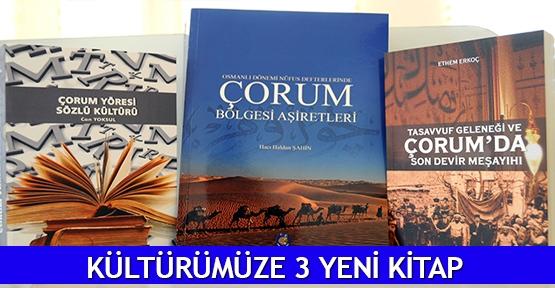 Kültürümüze 3 yeni kitap