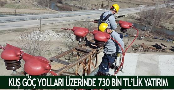 Kuş göç yolları üzerinde 730 bin TL'lik yatırım